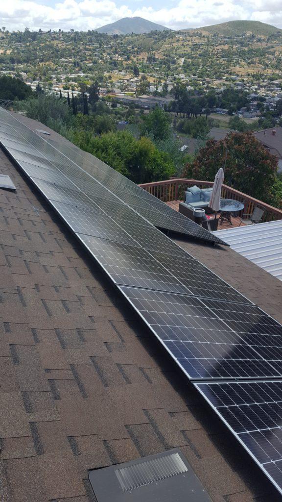 Another Solar Install in Tierrasanta, San Diego