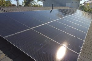 Another San Diego Solar installation in Pacific Beach. 31X 315W QCell panels (9.765kW). SolarEdge 7600 HD Inverter